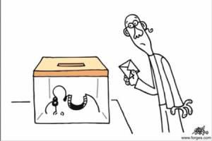 votante-urna